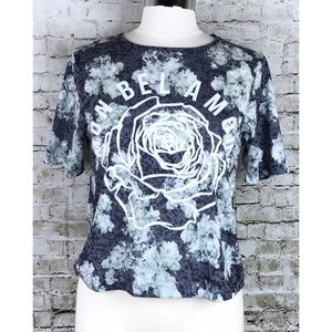 NWOT Asos Floral Graphic Tee